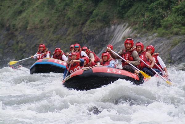 秀姑巒溪泛舟-2