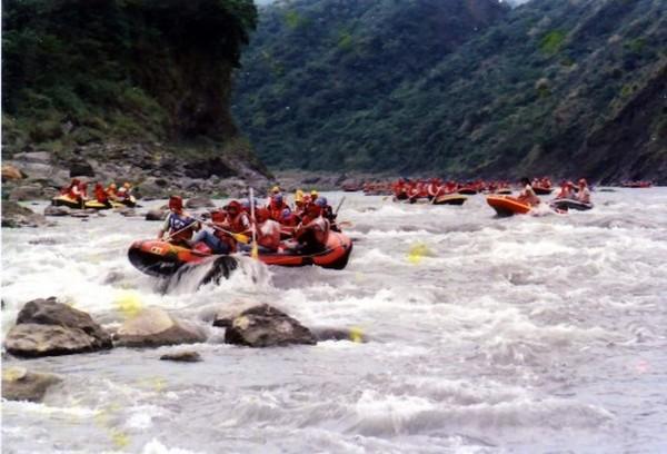 秀姑巒溪泛舟-3