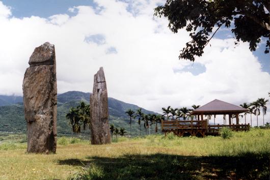 舞鶴掃叭頂石柱-新石器時代卑南文化的一支