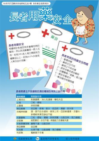用藥安全檢查表(正面)