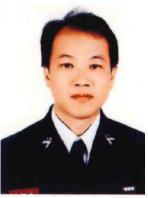 和平義消分隊 分隊長 范明信