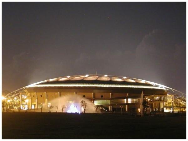 縣立體育館空拍圖