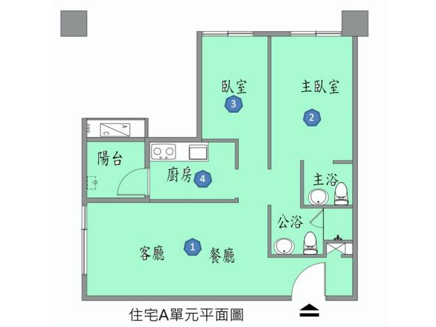 A單元房型